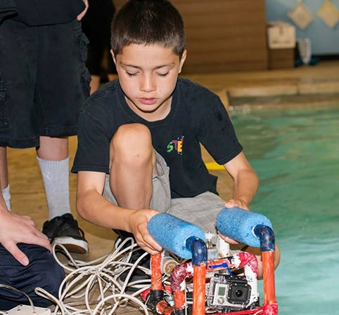 2ND ANNUAL OCEAN FIRST INSTITUTE UNDERWATER ROV COMPETITION AT OCEAN FIRST