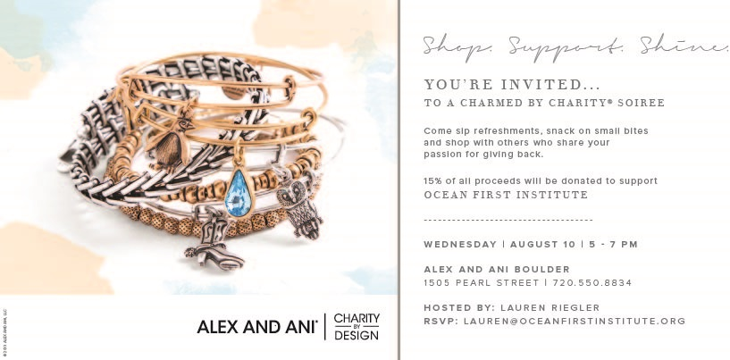 Alex and Ani Charity Event for Ocean First Institute