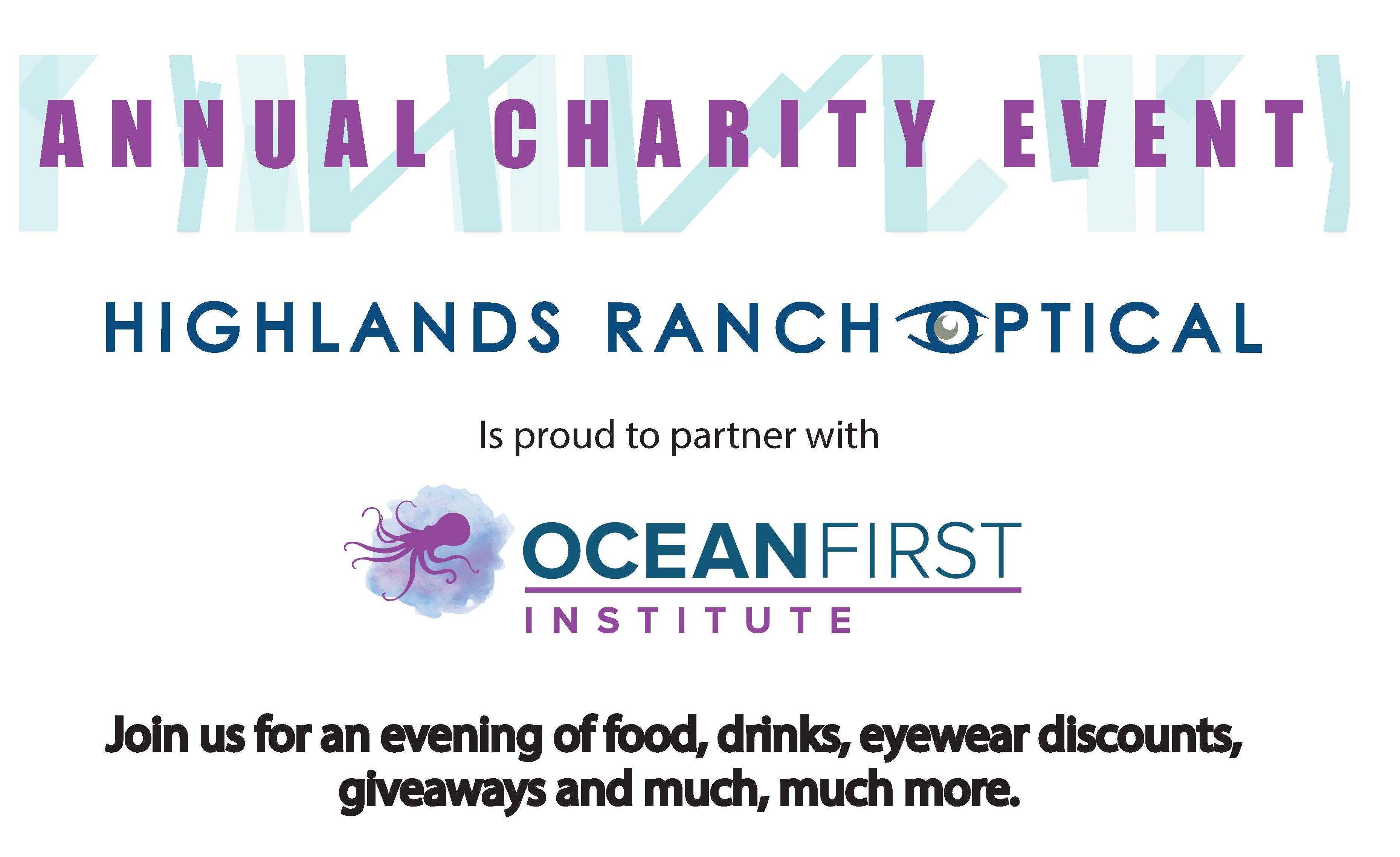 Highlands Ranch Optical Annual Charity Event