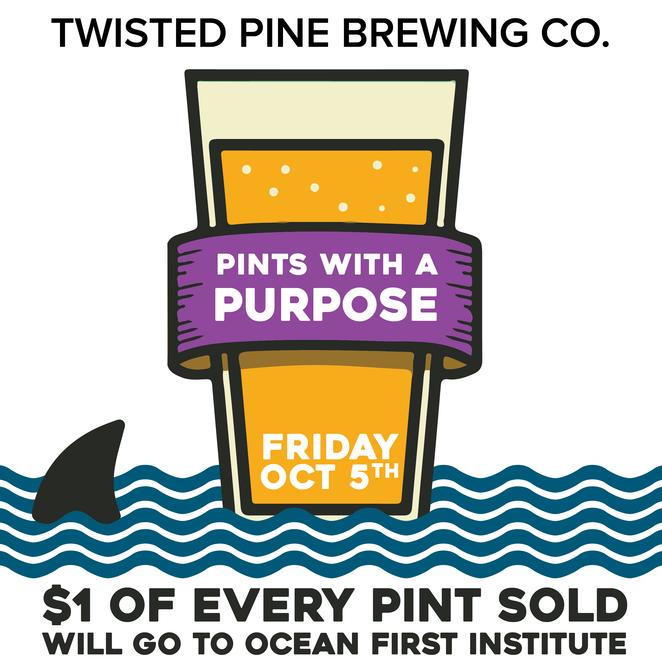 Pints With a Purpose at Twisted Pine