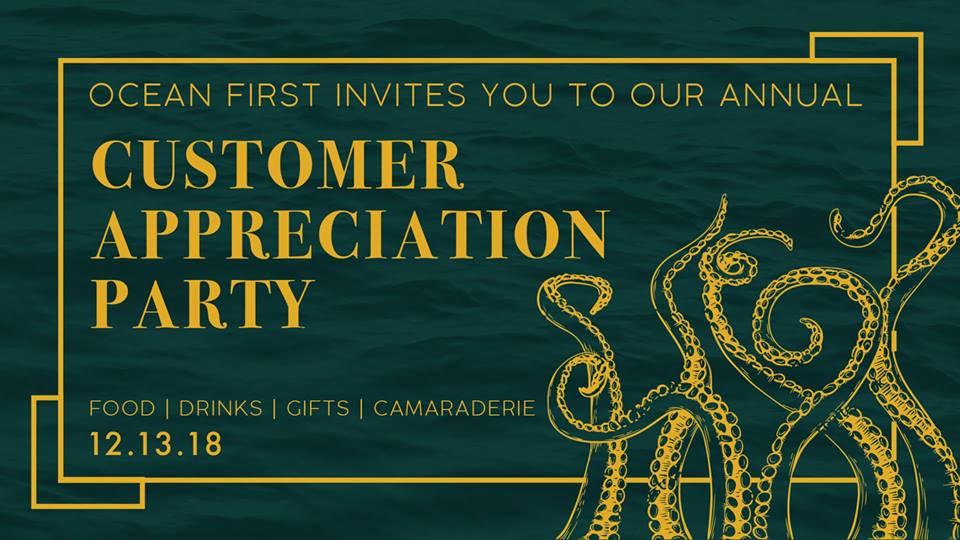 Ocean First Customer Appreciation Party